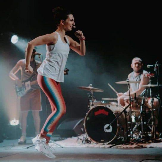 Baraqué en live au théâtre de l'usine de St Céré. ©Diane Barbier, auteur-photographe.